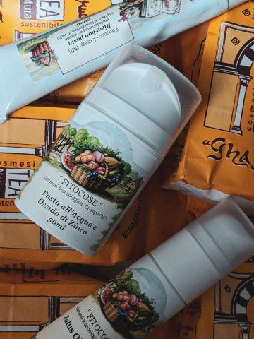 Vegan Beauty Haul Naturkosmetik cruelty free Ecco Verde Kosmetik Gesichtspflege fitocose tea natura deocreme deodorant zinksalbe lavaerde wascherde serum italien natürlich (
