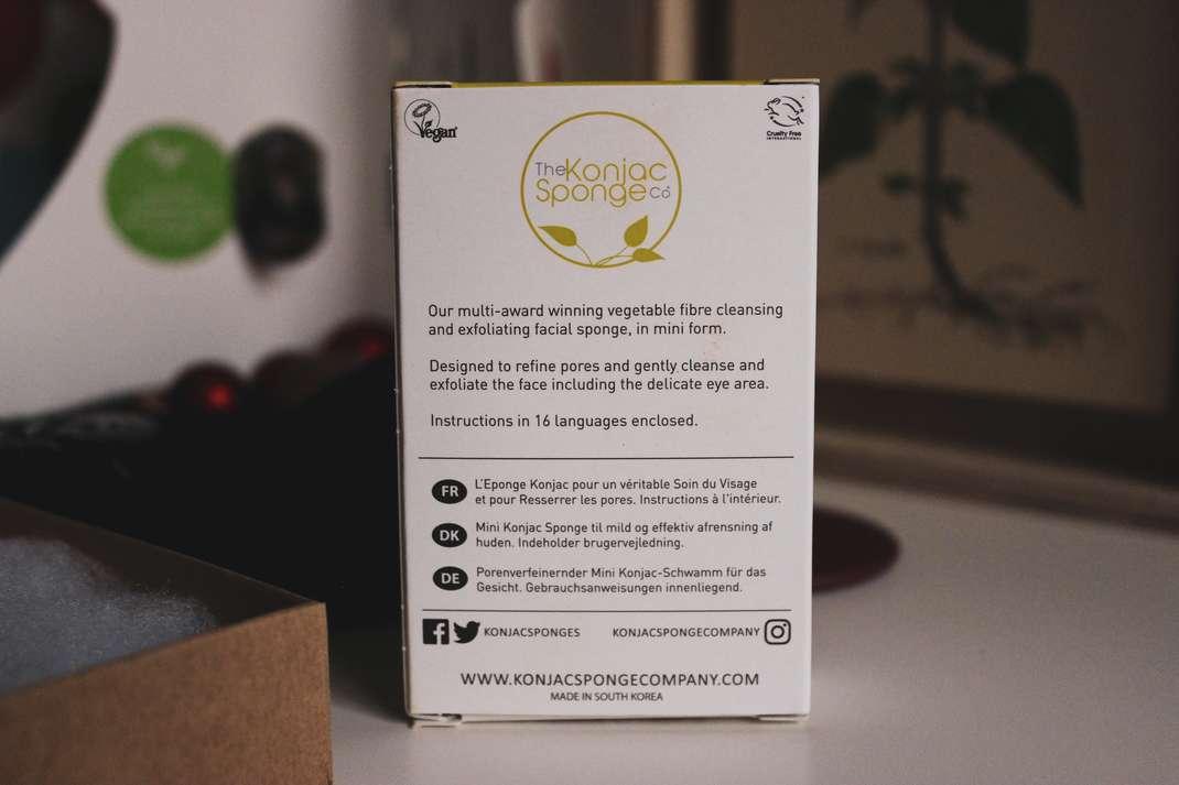 vegan weihnachtsgeschenke vegane geschenke gifts weihnachten geburtstag schenken shop small Konjac Sponge Naturkosmetik 2