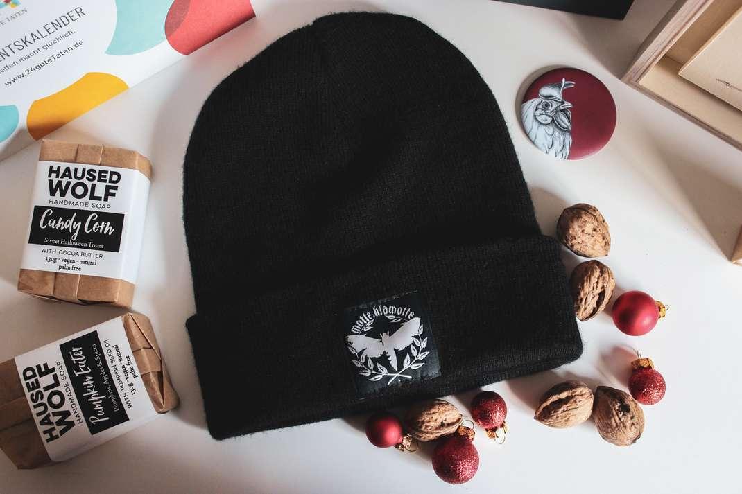 vegan weihnachtsgeschenke vegane geschenke gifts weihnachten geburtstag schenken shop small fair motte klamotte mütze